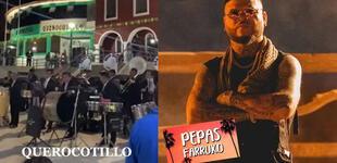 """Pepa y agua pa' la seca"": Banda musical peruana toca tema de Farruko y es viral [VIDEO]"