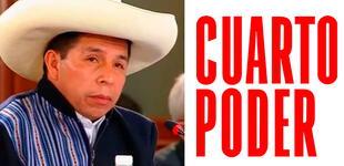 Critican a Cuarto Poder por reportaje burlesco sobre el viaje del presidente Castillo [VIDEO]
