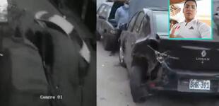 Independencia: Policía ebrio causó triple choque en pleno toque de queda [VIDEO]