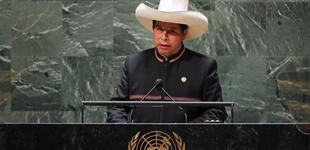 """Pedro Castillo ante la ONU: """"Condenamos y rechazamos el terrorismo en todas sus formas"""" [VIDEO]"""