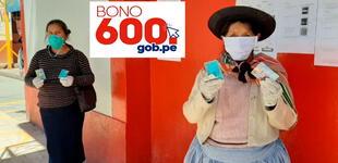 Bono 600, septiembre 2021: los detalles para cobrar subsidio del Gobierno HOY