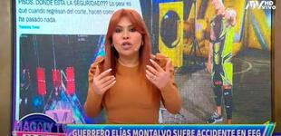"""""""Es mentira lo que dijeron, pudo haberse muerto"""", Magaly critica fuertemente a EEG por caída de Elías Montalvo"""