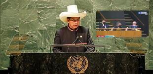 Secretario de Palacio fue captado durmiendo en pleno discurso de Pedro Castillo en la ONU [VIDEO]