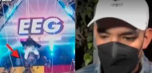 Peter Fajardo, productor de EEG, confirma que prefirieron que Elías Montalvo se quedara un día más en la clínica