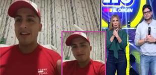 """Elías Montalvo reaparece en EEG tras caída: """"Es un milagro, no lo podía creer"""" [VIDEO]"""