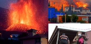 España: más de 300 familias se quedan sin hogar tras la erupción del volcán Cumbre Vieja en La Palma