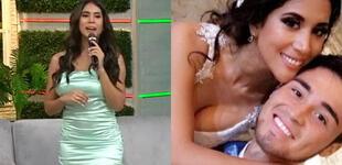 Melissa Paredes revela que su esposo Rodrigo Cuba recibe curiosos mensajes de mujeres