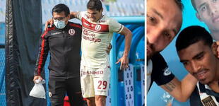 Lesión de Aldo Corzo preocupa en Videna ¿Sera la oportunidad de Oslimg Mora?