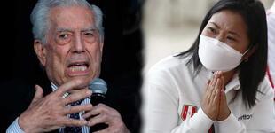 """Mario Vargas Llosa sobre su respaldo a Keiko Fujimori: """"Voté por el mal menor"""""""