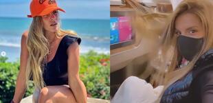 Alejandra Baigorria se va de vacaciones a Miami sin Said Palao [VIDEO]