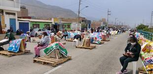 Pachacámac: Ollas Comunes reciben apoyo de autoridades
