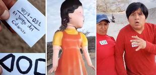 """Sibenito parodia a su estilo serie """"El juego del calamar"""" junto a su mamá y la rompe en TikTok"""