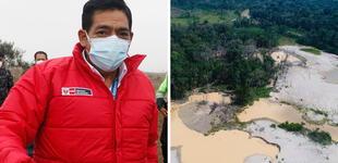 """Ministro Ramírez: """"Los delitos ambientales también son crímenes de lesa humanidad"""""""