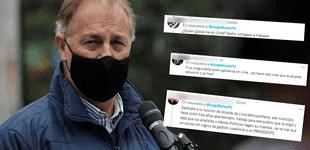Usuarios trolean a Jorge Muñoz por preguntar quien gobierna en el Perú: ¿Y quién gobierna en Lima?