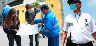 Reactivación del turismo: serenos bilingües refuerzan la seguridad de los visitantes al Centro Histórico