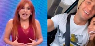 """Magaly Medina sobre Luciana Fuster y Gabriel Coronel: """"Andan buscando hacerse publicidad"""""""