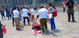 Grupo fujimorista 'La Resistencia' agredió violentamente a víctimas de esterilización forzada