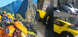 Transformers 7: filtran video que muestra los autos que saldrán en la nueva entrega filmada en Perú
