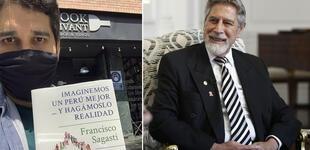 "San Isidro: acuden a librería Book Vivant a comprar el libro de Sagasti tras ""terruqueo"""