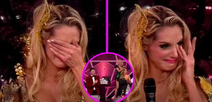 Brenda Carvalho rompió en llanto EN VIVO tras recibir un puntaje perfecto y elogios del jurado [VIDEO]