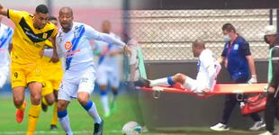 "Alberto ""Mudo"" Rodríguez volvió a las canchas tras dos meses, pero se volvió a lesionar [VIDEO]"