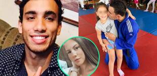 """Said olvida problemas con su ex y lleva a su hija a clases de yudo: """"A su edad empecé en este deporte"""""""