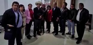 Pedro Castillo tuvo reunión secreta con integrantes del partido Magisterial y Popular