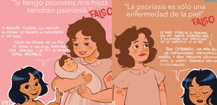 Día Mundial de la Psoriasis: artistas crean ilustraciones para sensibilizar sobre esta enfermedad
