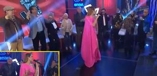 Exparticipantes de La Voz Senior enternecen al estar presentes en la final del concurso [VIDEO]