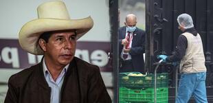 ¡Feliz Cumpleaños! Pedro Castillo festeja sus 52 años con comida y torta dentro de Palacio de Gobierno