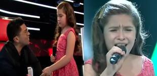La Voz Kids: Christian Yaipén se quiebra tras recordar a su papá al ver cantar a la pequeña Grazzia