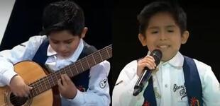 La Voz Kids: Gianfranco impacta al cantar 'Flor de retama' y al tocar guitarra [VIDEO]