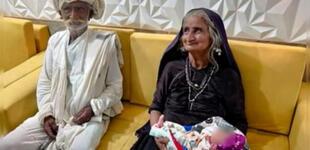 Mujer de 70 años da luz a su primer hijo en la India: bebé nació en perfecto estado