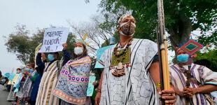 Pueblos indígenas llegan a Lima para denunciar invasión de sus tierras por narcotraficantes