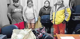 Trujillo: incautan 52 kilos de marihuana en camión