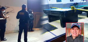 El Agustino: acribillan a un hombre al interior de una salón de billar
