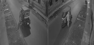 Cercado: delincuente encapuchado se lleva mototaxi en 30 segundos