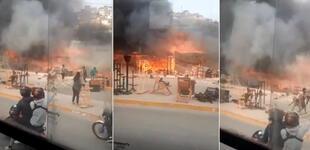 VMT: incendio de gran magnitud viene ocurriendo en distrito