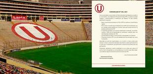 """Universitario rechaza los nuevos estatutos de la FPF: """"Ameritará el pronunciamiento de FIFA"""""""