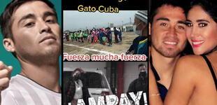 """""""Estamos contigo"""": graban singulares mensajes de apoyo al 'Gato' Cuba tras ampay de Melissa [VIDEO]"""