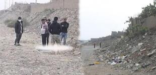 Trujillo: Asesinan a joven de 20 años de un balazo y arrojan su cuerpo a un cauce