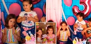 Niña del cumpleaños viral reaparece tras un año de apagar las velas de su hermana [VIDEO]
