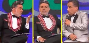"""Andrés Hurtado le recuerda a JB sus épocas en ATV y él le dice: """"Y por eso me botaron, se cayó el rating"""""""