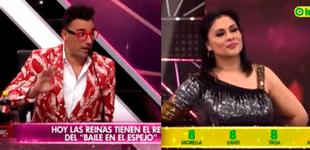 """Santi Lesmes le baja el dedo Yolanda Medina en Reinas del show: """"Ha sido terrorífico"""" [VIDEO]"""