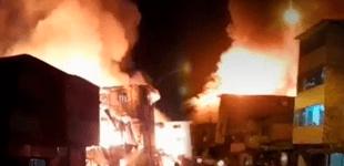 Iquitos: incendio de grandes proporciones deja 2 fallecidos y 10 viviendas destruidas