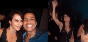 Gerardo Zamora estuvo en el cumpleaños de Kate del Castillo [VIDEO]