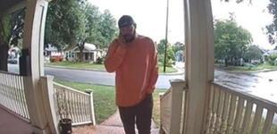 Hombre insulta a su suegro sin saber que sería captado por cámara de su casa y es viral  [VIDEO]