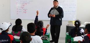 Vásquez anuncia que Gobierno destinará S/ 572 millones para elevar sueldo de docentes