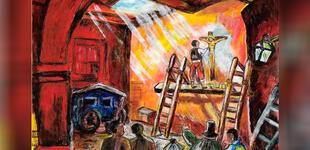 ¿Quién pintó la imagen del Señor de los Milagros?