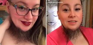 """Mujer rompe estereotipos con su barba: """"Lo que te hace diferente te hace hermosa"""" [VIDEO]"""